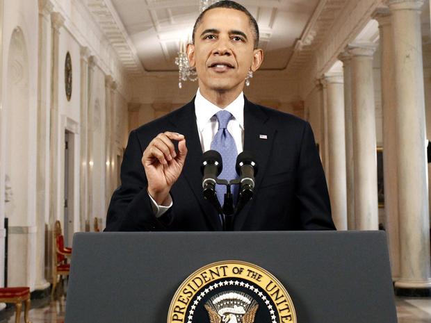 President Obama speaks in the East Room of the White House June 28, 2012, in Washington.