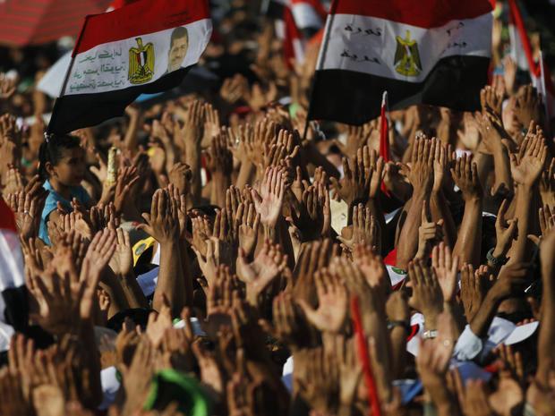Tahrir Square celebrations