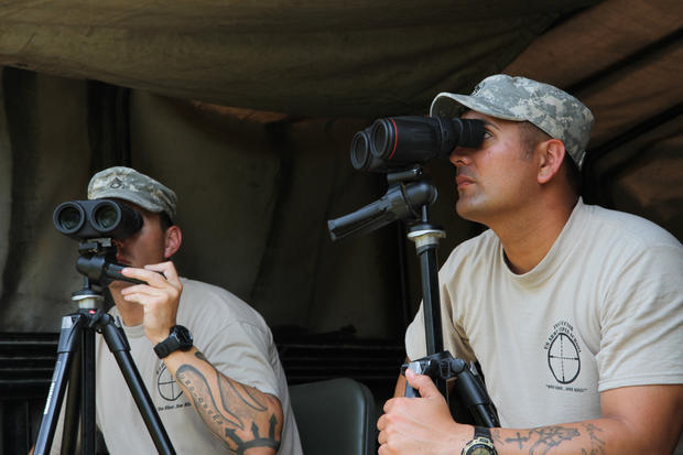 Snapshots from an Army sniper school