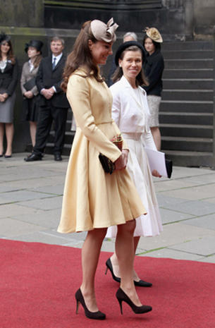 Royals attend Order of the Thistle ceremony