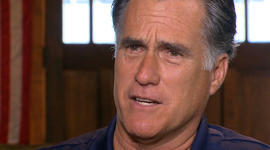 Romney still talking about the economy