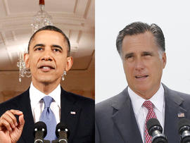 Romney, Obama point fingers after June jobs report