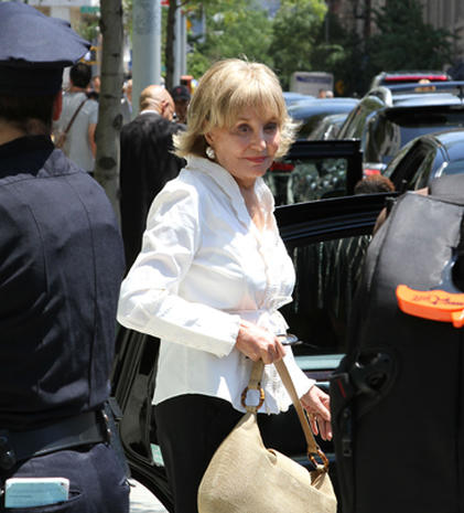 Celebrities attend Nora Ephron's memorial service