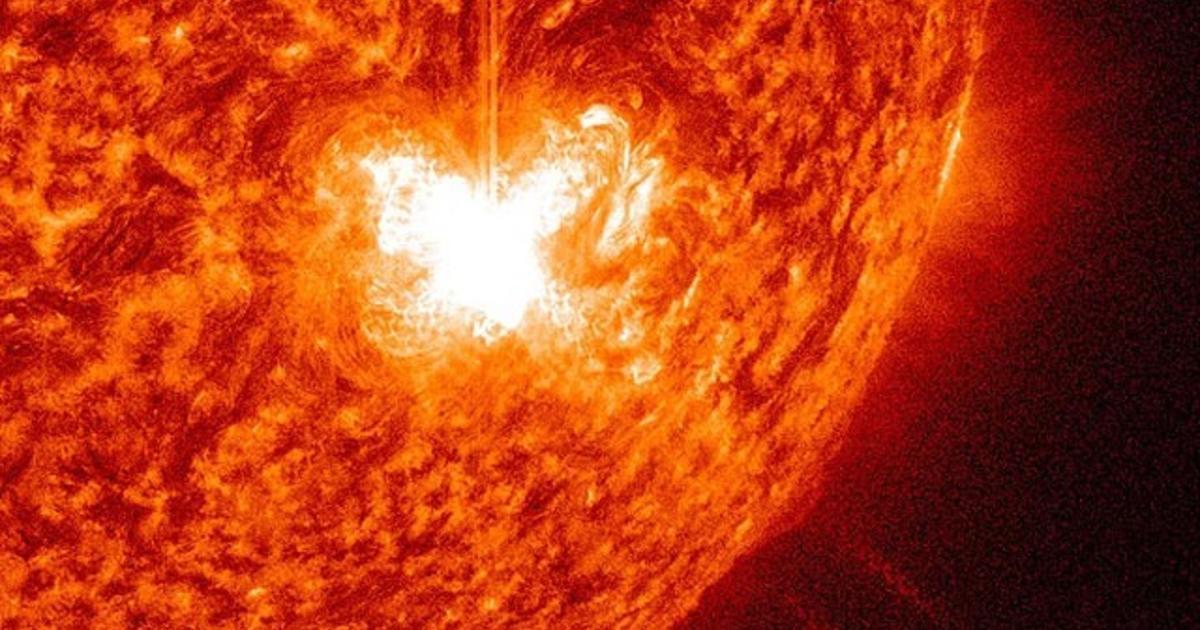 Sun storms: solar activity at fiery high - CBS News