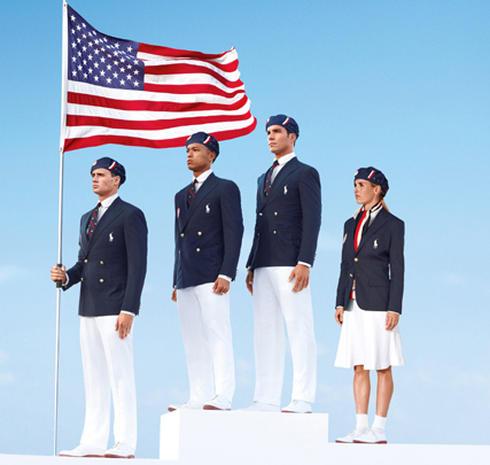 Ralph Lauren's U.S. Olympic opening ceremony uniforms