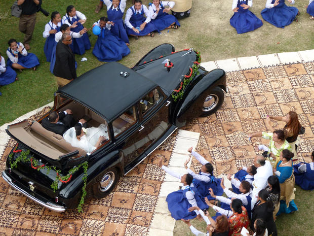 Royal wedding in Tonga