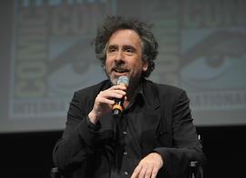 Director Tim Burton speaks at Comic-Con on July 12, 2012 in San Diego, Calif.