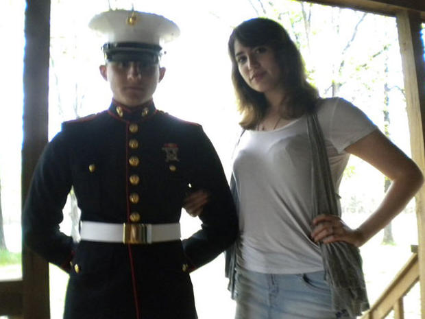 Body of Marine's wife found, woman arrested