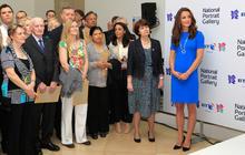 Duchess Kate at Olympic art exhibit