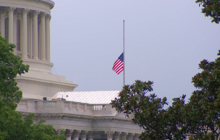 Flags lowered to half-staff at White House, Capitol