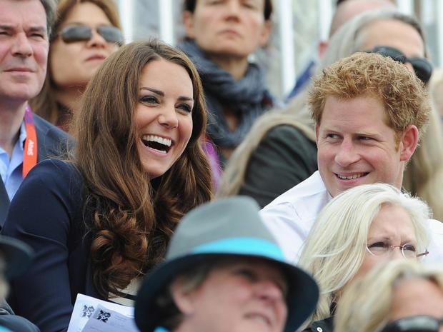 Royals cheer on Zara Phillips at Olympics