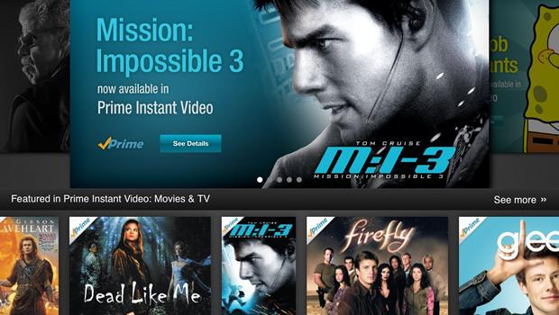 Amazon's new Instant Video iPad app