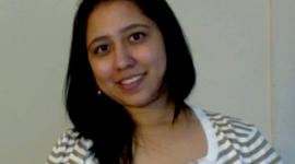Aditi Avhad was killed when a double-decker Megabus crashed into a bridge pillar on Interstate 55 in Illinois Thursday, Aug. 2, 2012.