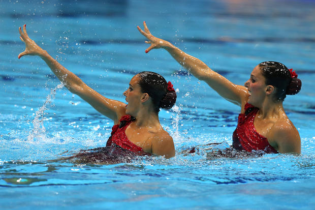 London Olympics: Synchronized Swimming