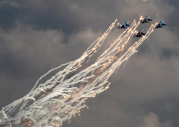 Russian air force's 100th anniversary