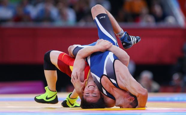 Offbeat pics from London Olympics