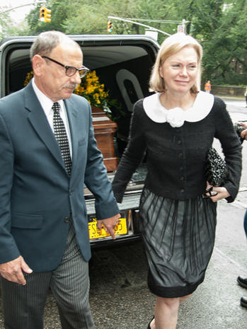 Marvin Hamlisch's funeral