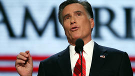 Romney discusses his father, growing up Mormon