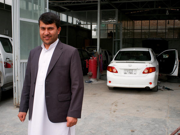 Afghan businessman Muqim Jamshady