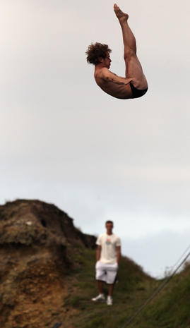 Red Bull Cliff Diving Competition