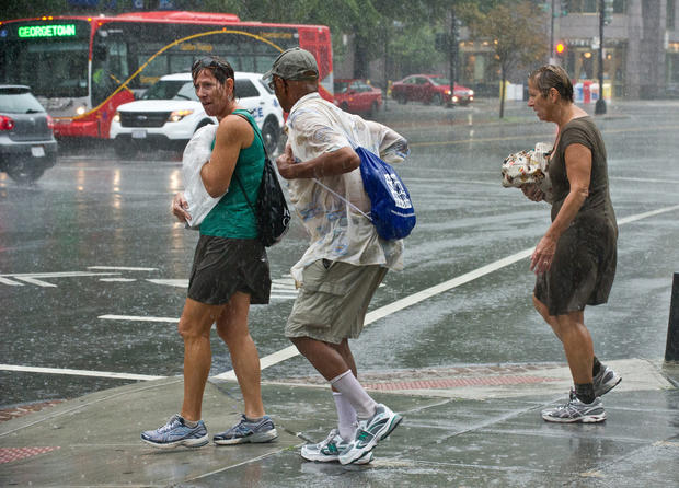 Severe weather hits the Northeast