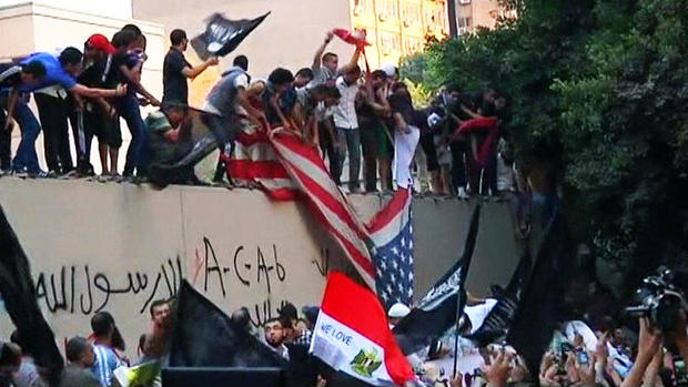 Epytian protesters attack U.S. Embassy over anti-Muslim film