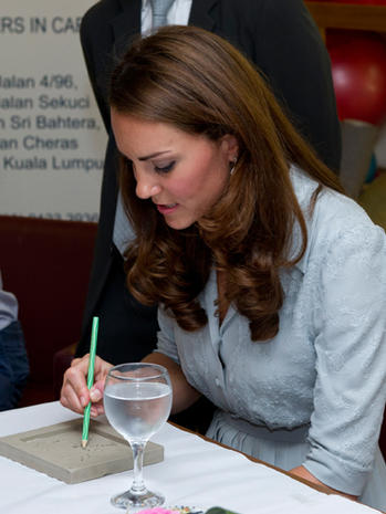 Prince William and Kate in Malaysia