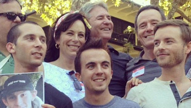 Photo de Frankie Muniz & son ami