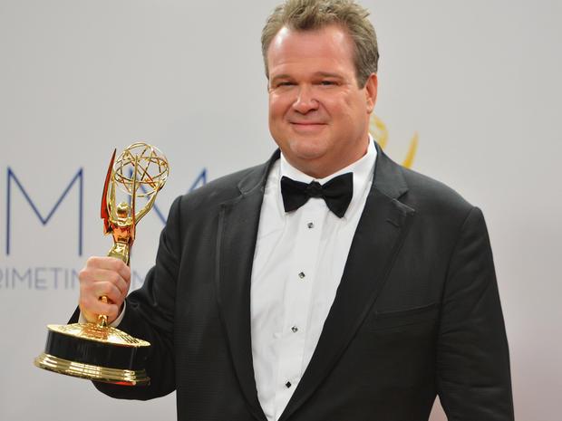 Emmy press room 2012