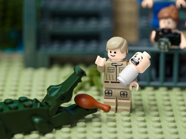 Iconic Australian moments in LEGOs