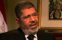"""Egypt's President Morsi: """"We are not enemies"""""""