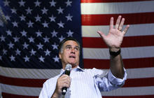 Falling in polls, Romney shifting campaign strategy