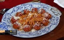 Rocco DiSpirito's Spaghetti and Meatballs