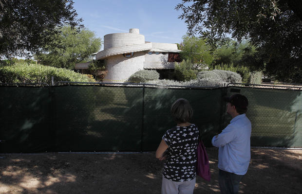 Frank Lloyd Wright house threatened