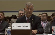 Lt. Col. Wood testifies that more security was needed in Libya