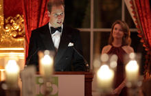 Prince William steps out at charity gala