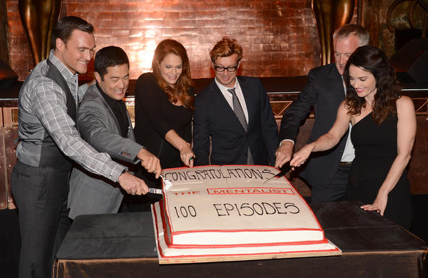 """The Mentalist"" marks 100th episode"
