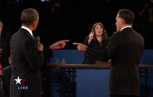 Second presidential debate: Libya
