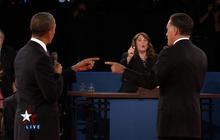 Second presidential debate: Libya