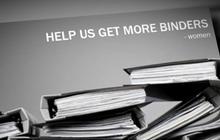 "Romney's ""binders full of women"" goes viral"