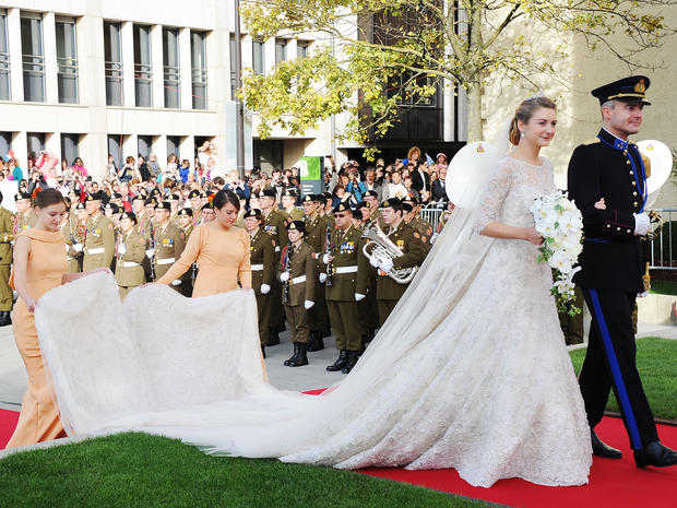 Royal Wedding Gowns Photo 1 Pictures Cbs News