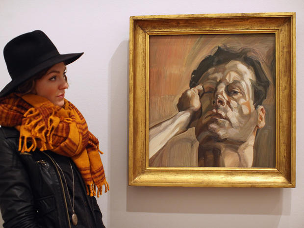 The art of Lucian Freud