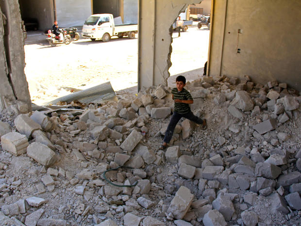 """Bunker schools"" for Syrian kids"