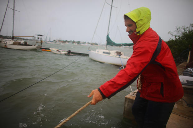 U.S. prepares for Hurricane Sandy
