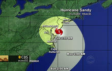 "Hurricane Sandy could be a ""Frankenstorm"""