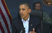 Obama warns Americans to take Hurricane Sandy seriously