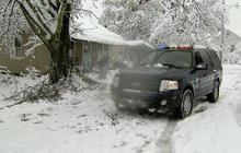 Superstorm Sandy snowfall shuts down W. Va. town
