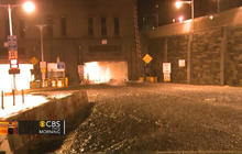 Sandy in NYC: Flooding, explosions, fires and a hanging crane