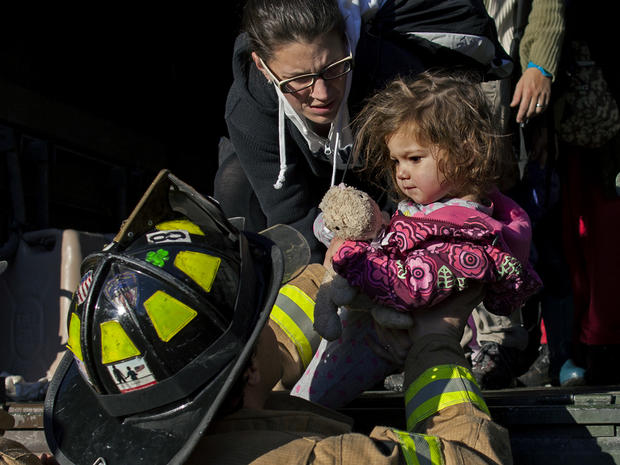Hurricane Sandy rescue missions