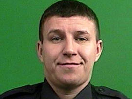 Officer Artur Kasprzak is seen in this undated picture provided by the New York Police Department Oct. 30, 2012.